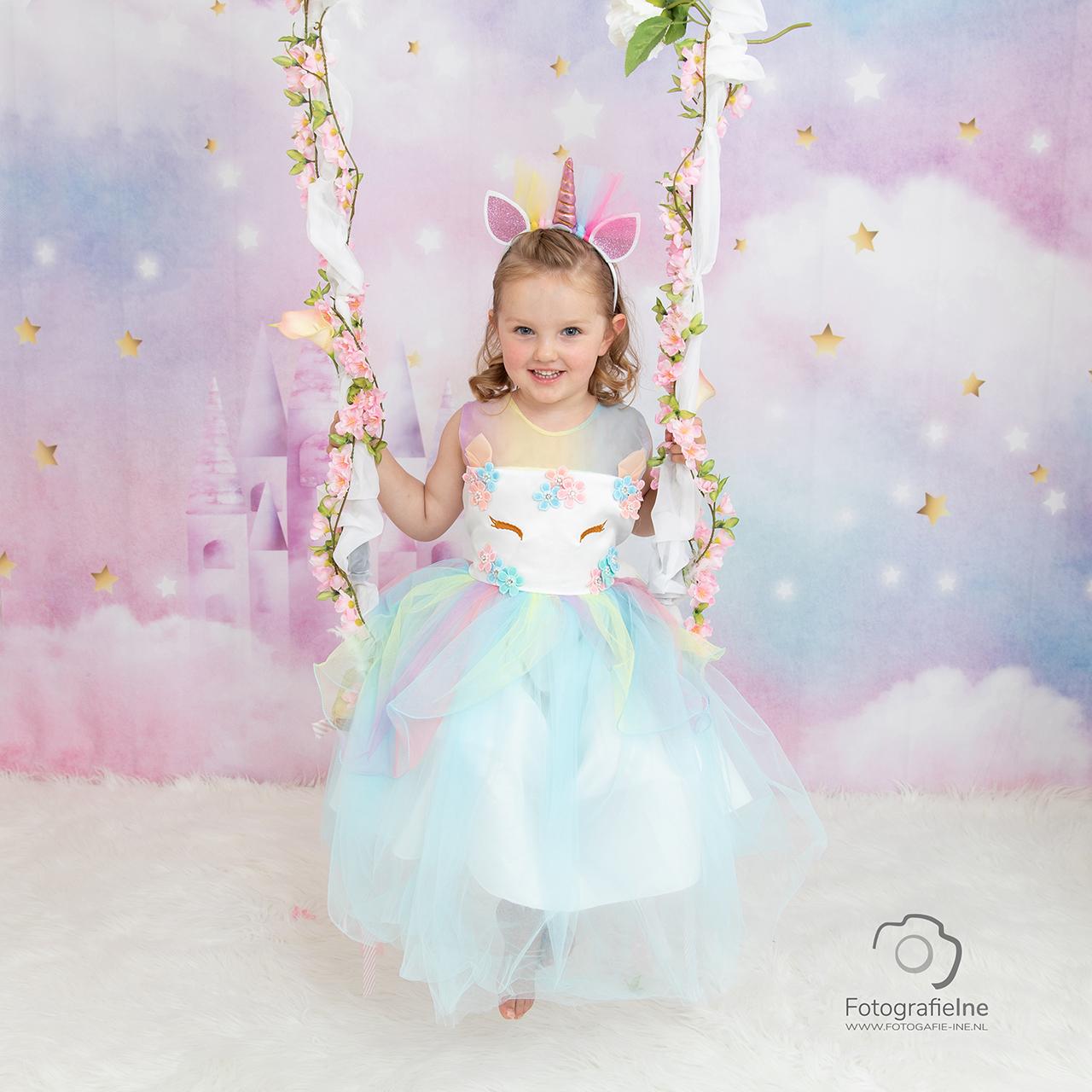 Fotografie Ine Prinsessen fotoshoot unicorn