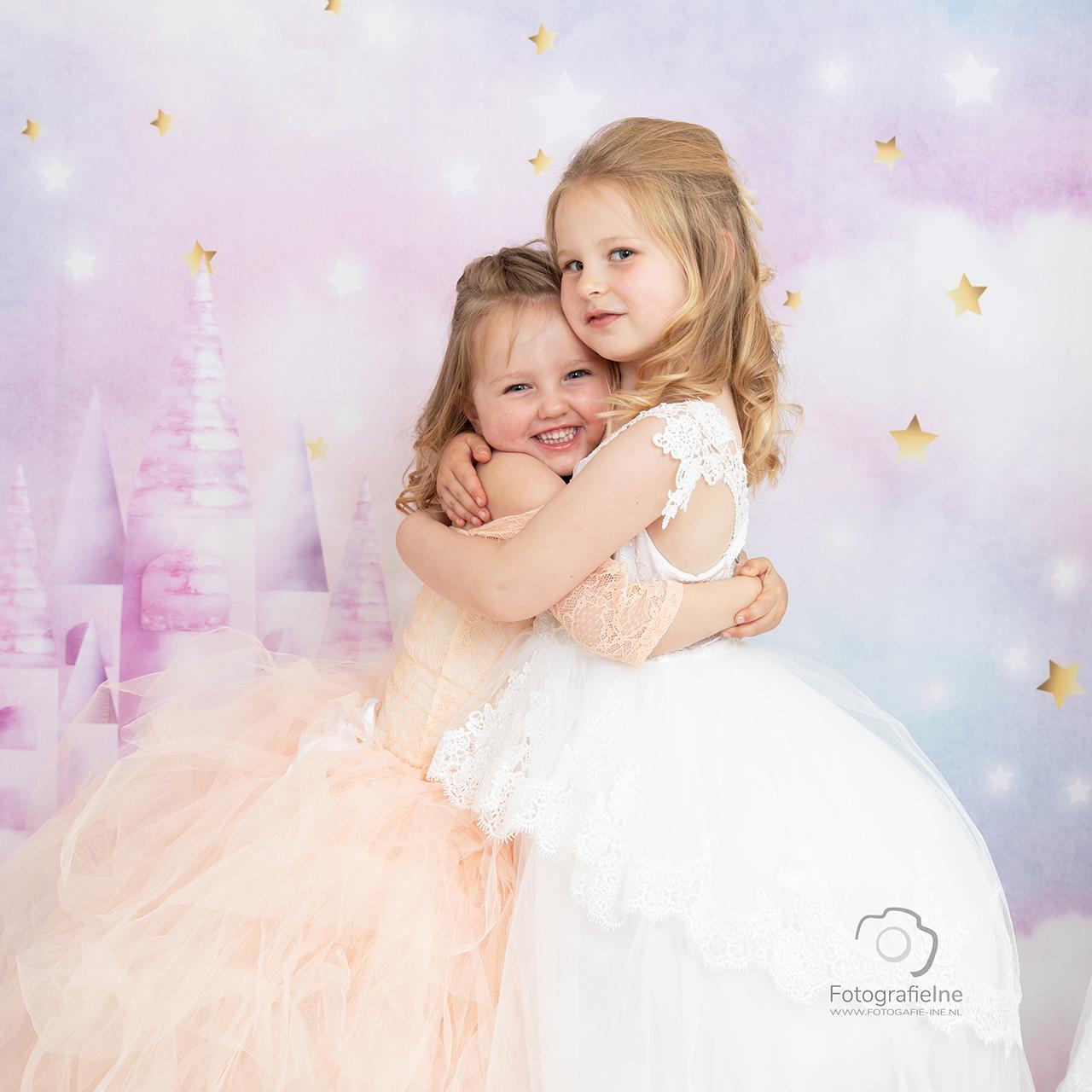 Fotografie Ine Prinsessen fotoshoot zusjes