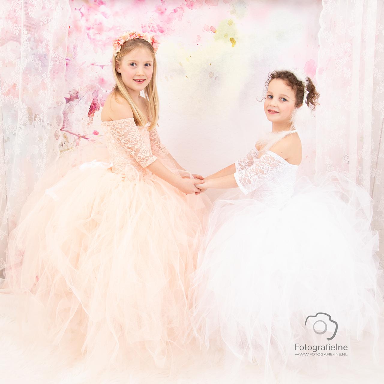 Fotografie Ine prinsessen fotoshoot Yara en Eef