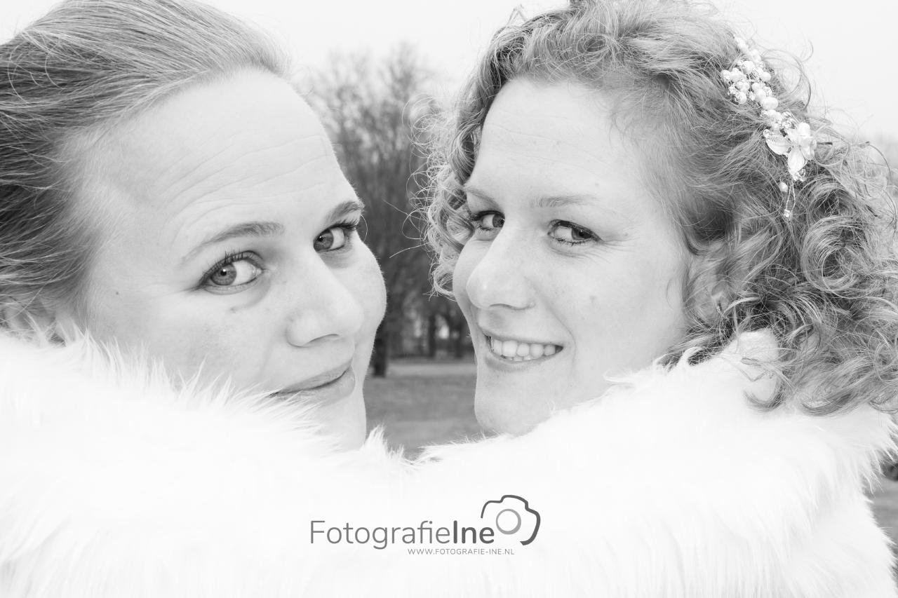 Fotografie Ine bruiloft huwelijk Boekel