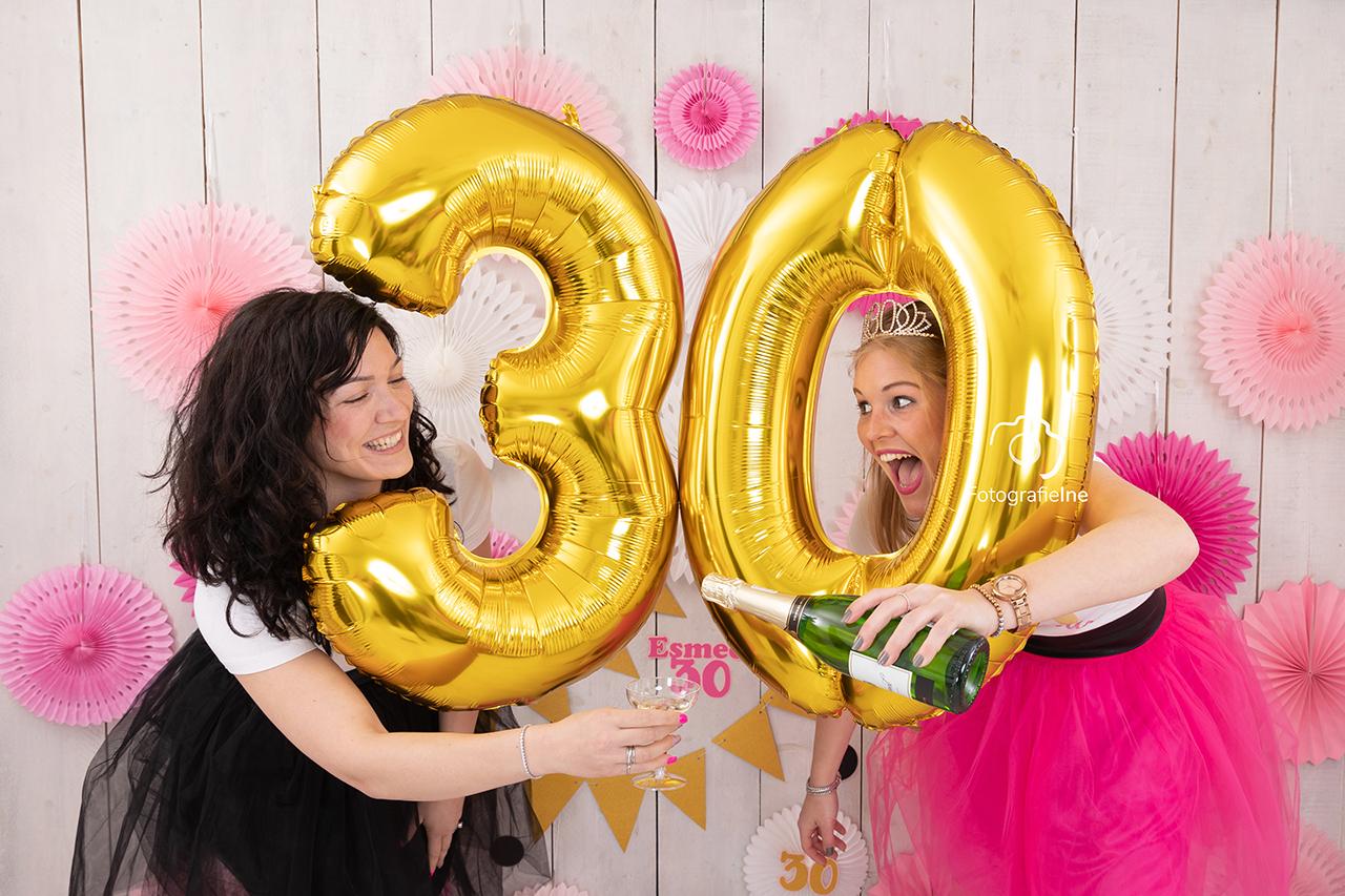 Fotografie Ine cakesmash 30e verjaardag 30 jaar
