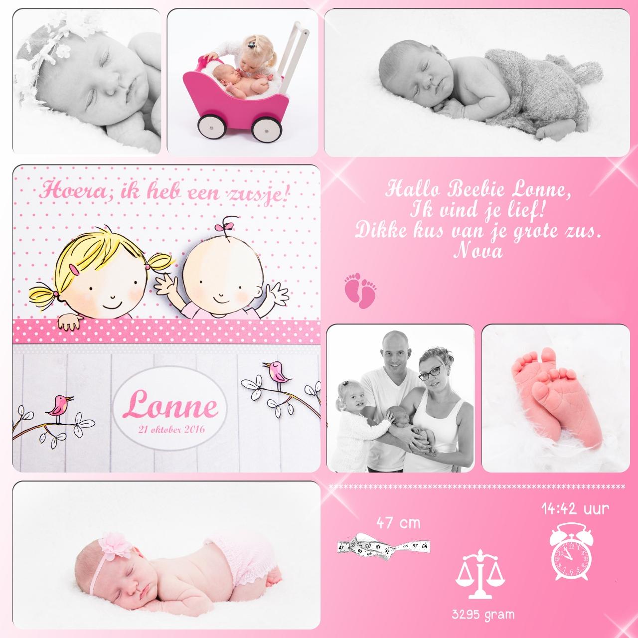 collage geboorte tegel Lonne (1280×1280)